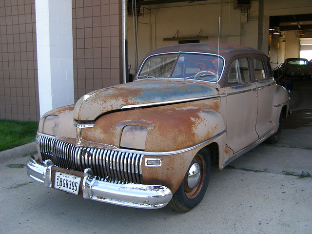 225 476 1942 Desoto Rare Pre War 4 Door Deluxe Sedan Flickr