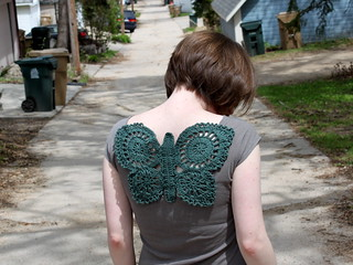 Crochet Butterfly Adornment | by brineydeep4