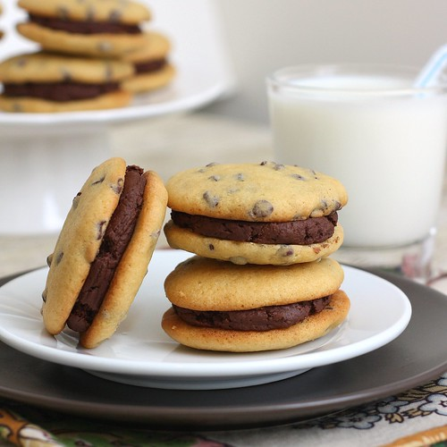 Chocolate Chip Whoopie Pies | by Tracey's Culinary Adventures