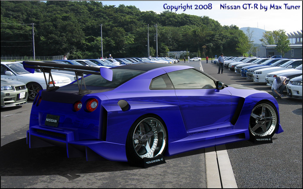 max tuner nissan skyline r35 gtr kit carrosserie en brus flickr. Black Bedroom Furniture Sets. Home Design Ideas