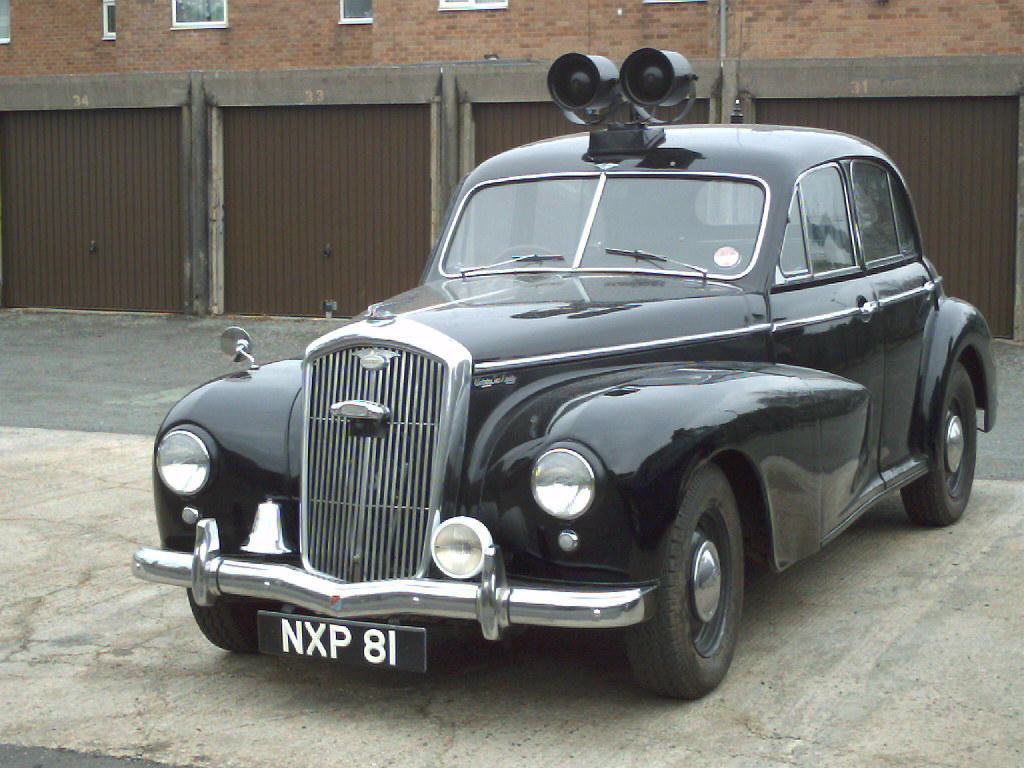 Wolseley 6 80 Police Car Wolseley 6 80 Police Car