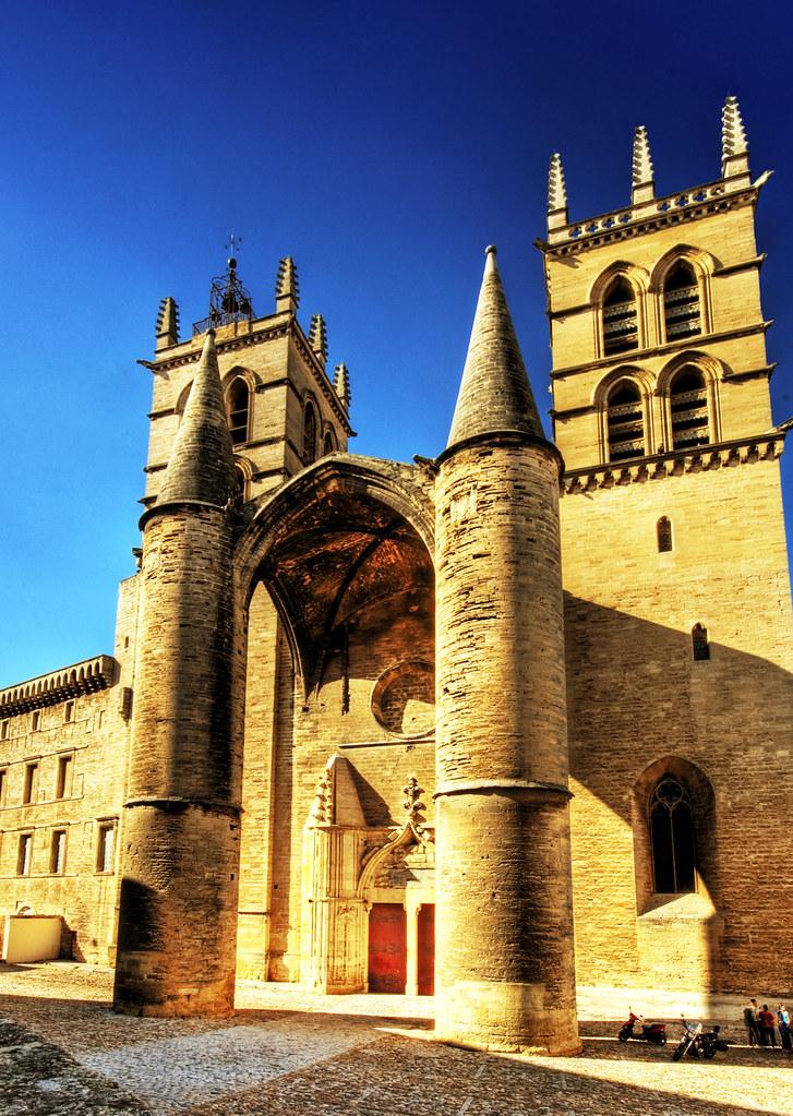 Cath drale saint pierre de montpellier take here a large - La compagnie des comptoirs montpellier ...