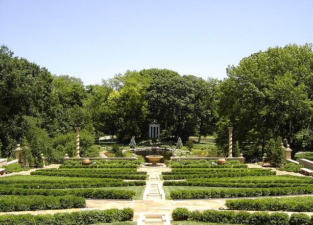 Philbrook Gardens Tulsa Oklahoma Charles Shelton Flickr