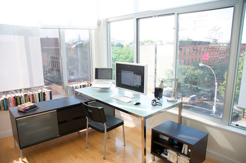 Brooklyn home office my home office in brooklyn at for Office design ideas for business office