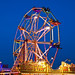 Ferris wheel at Dorset Steam Fair
