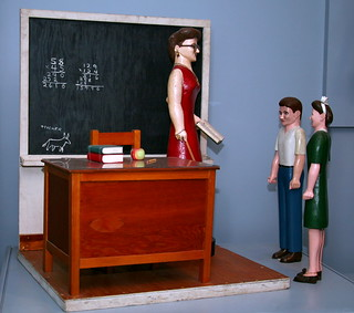 Classroom with Three Figures | by cliff1066™