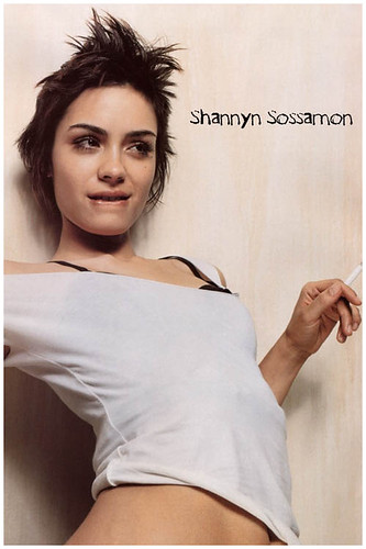 lesbian hair Shannyn Sossamon