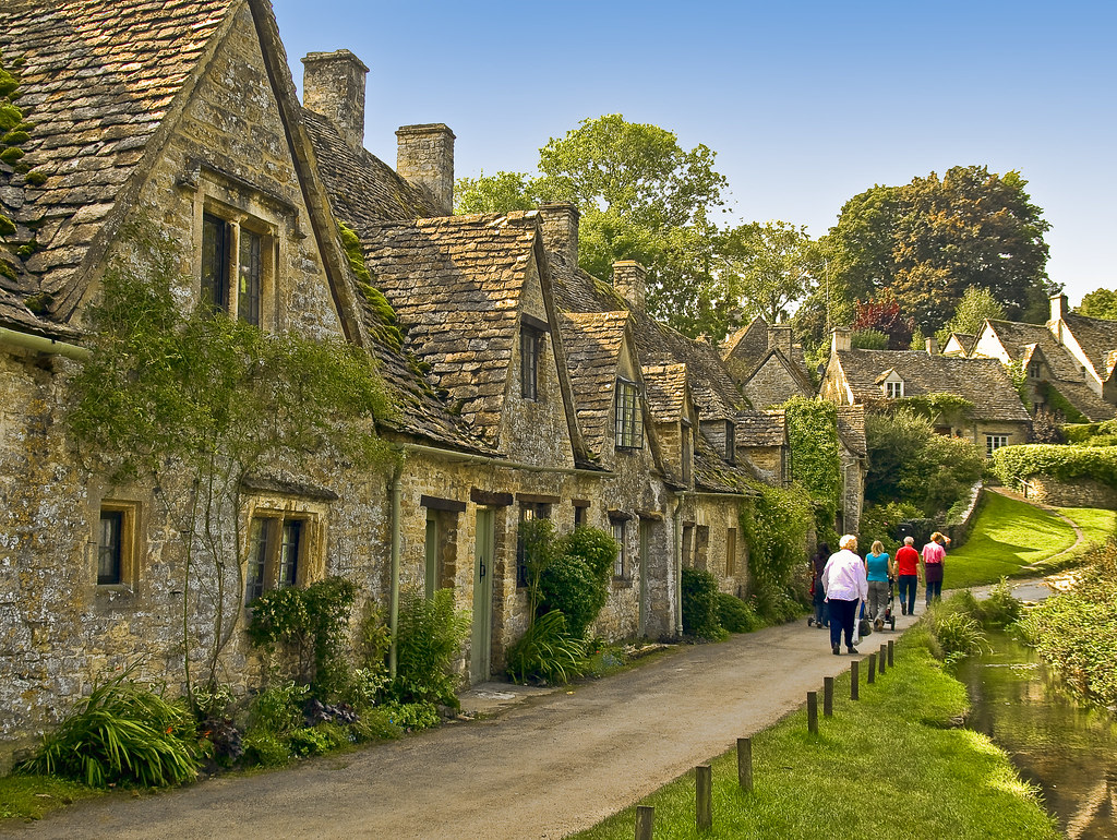 Arlington Row in Bibury, Gloucestershire