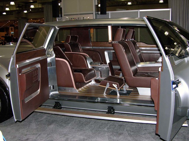 Ford Super Chief Concept Swanky On The Inside Looks