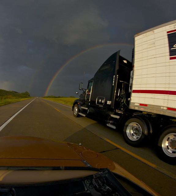Truck Passing Flickr Photo Sharing
