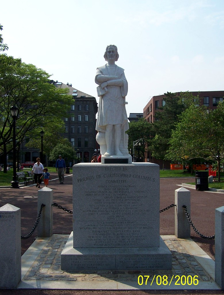 Columbus >> Columbus Statue, Boston, Massachusetts (MA) | Columbus Statu… | Flickr