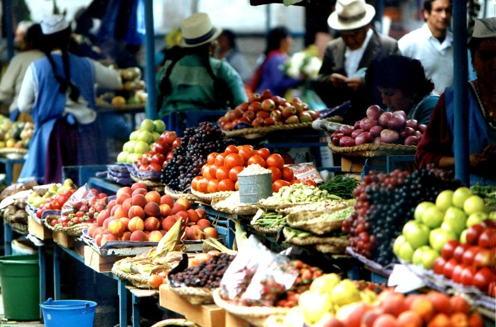 Ecuador Food Market