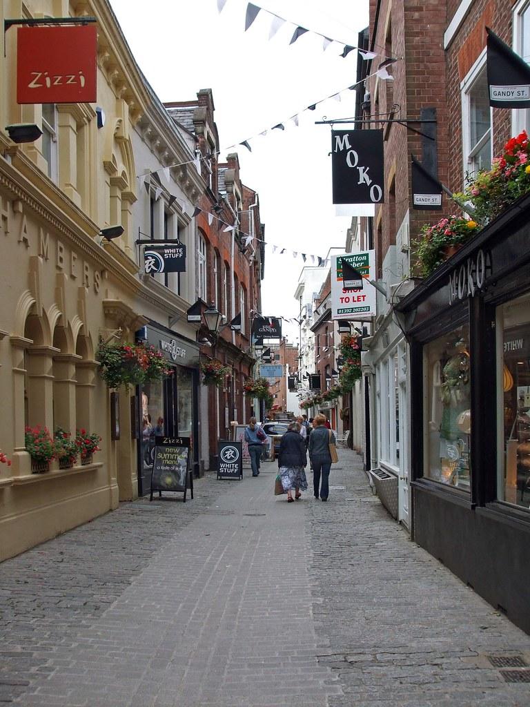 Exeter, Gandy Street. | Exeter, Gandy Street.