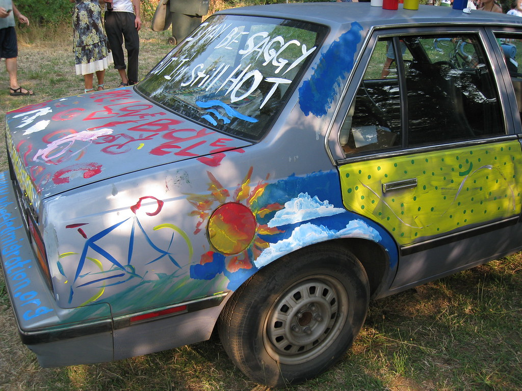 car art myrtle our sag wagon before her artwork was dest flickr. Black Bedroom Furniture Sets. Home Design Ideas