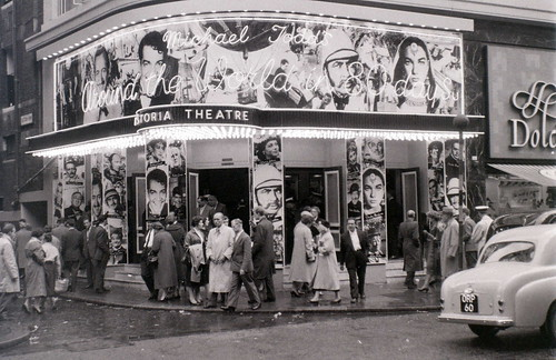 Astoria Theatre (cinema), Charing Cross Road, London, mid-1957 | by allhails