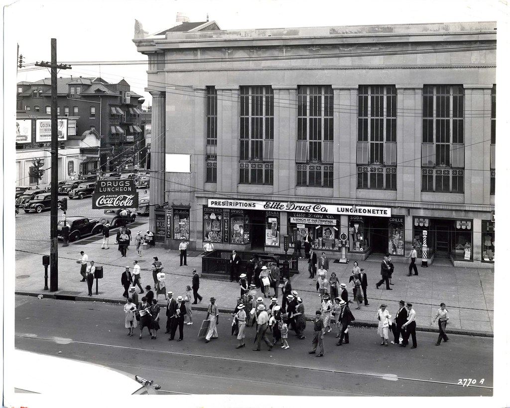 Barber Shop Erie Pa : Broad Street and Erie Ave., Philadelphia Now, thanks to rk ...