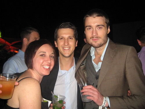 Mashable's Karen Hartline, Brett Petersel and Pete Cashmore | by Mashable.com