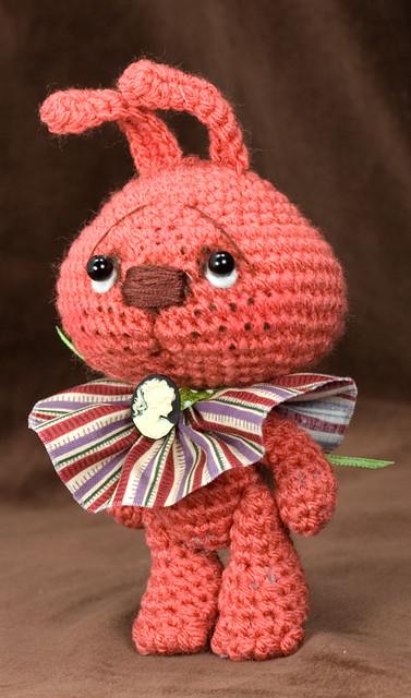 Amigurumi Rabbit Face : ~Freckles~ a Jointed amigurumi Bunny Rabbit cgi.ebay.com ...
