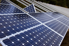 Installing solar panels | by OregonDOT