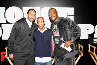 JET pose...Stephen A. Smith + Terry Crews @Nike's Chicago House of Hoops event | by KevinCarrollKatalyst