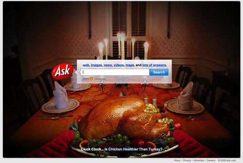 Ask.com Thanksgiving 2008 | by rustybrick