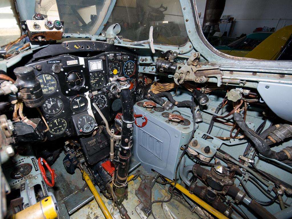 Warbird Adventures 2008, MIG-17 cockpit