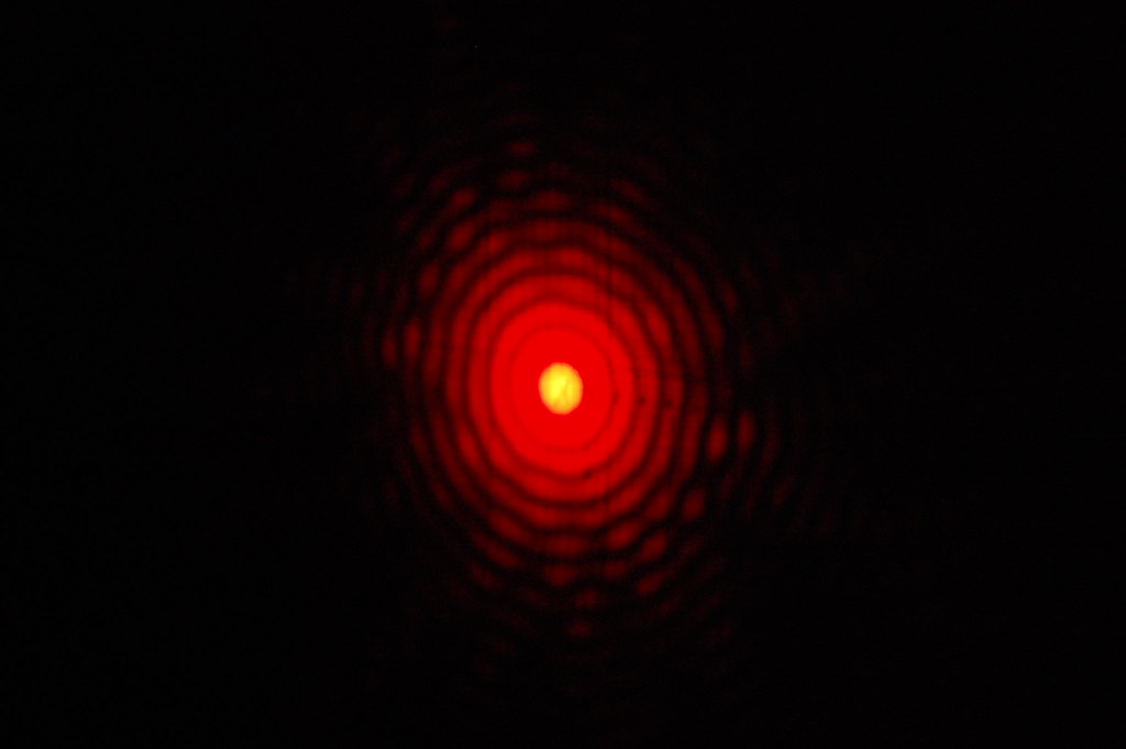 pinhole diffraction pattern
