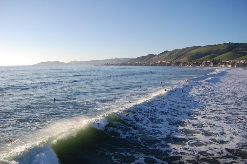 Surfing North Point Moreton Island