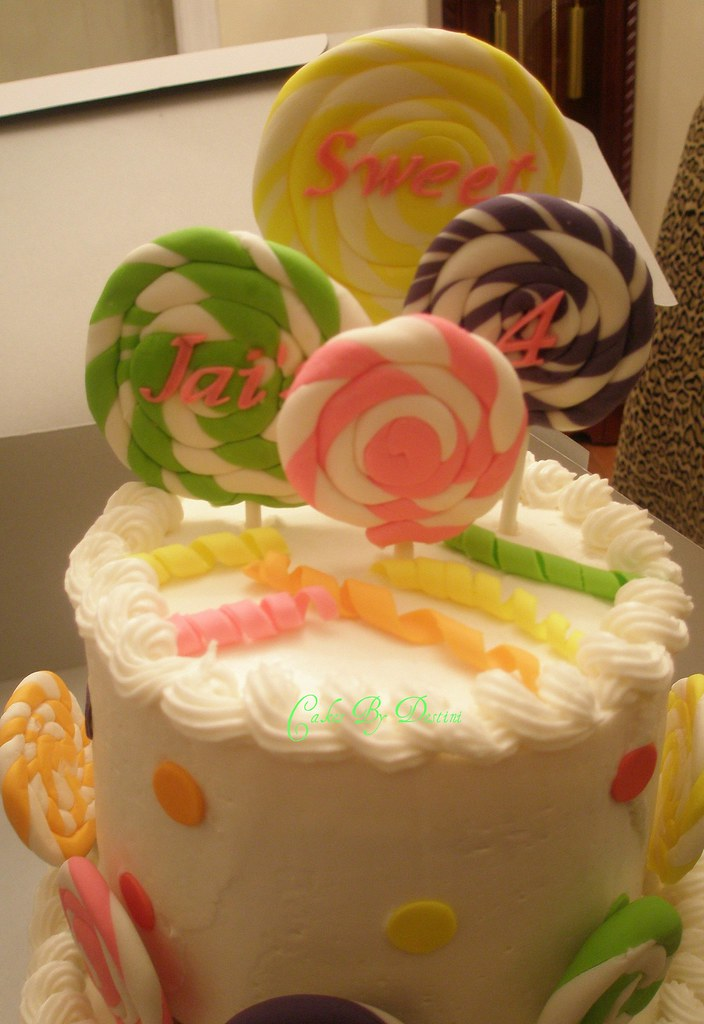 Jai S Lollipop Cake This Was Made For A Candy Shop Theme