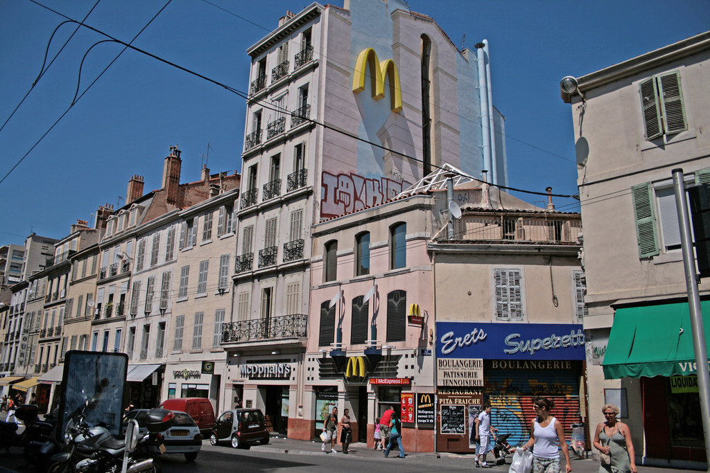 rue de rome marseille france mcdonald 39 s rue de rome. Black Bedroom Furniture Sets. Home Design Ideas