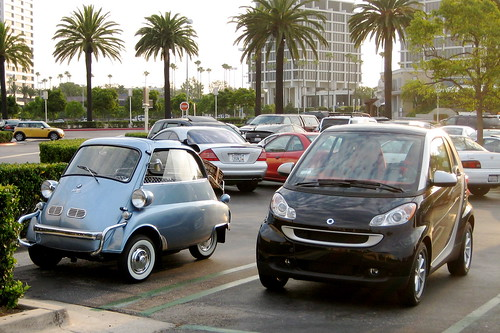 Isetta & smart Meet in Newport Beach | by psimac