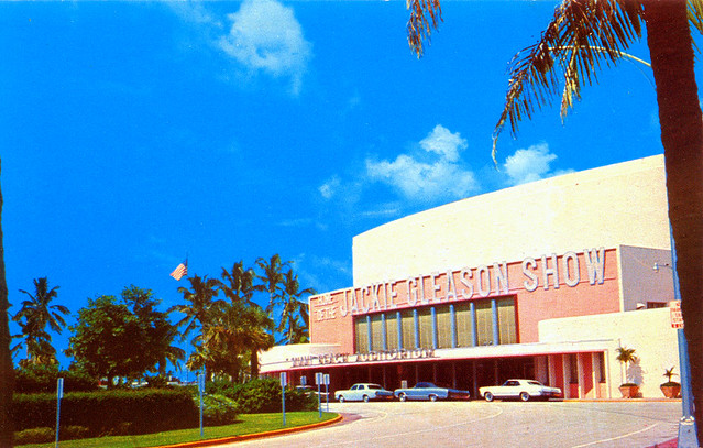 Postcard Of Miami Beach Auditorium 1960s As Stated On