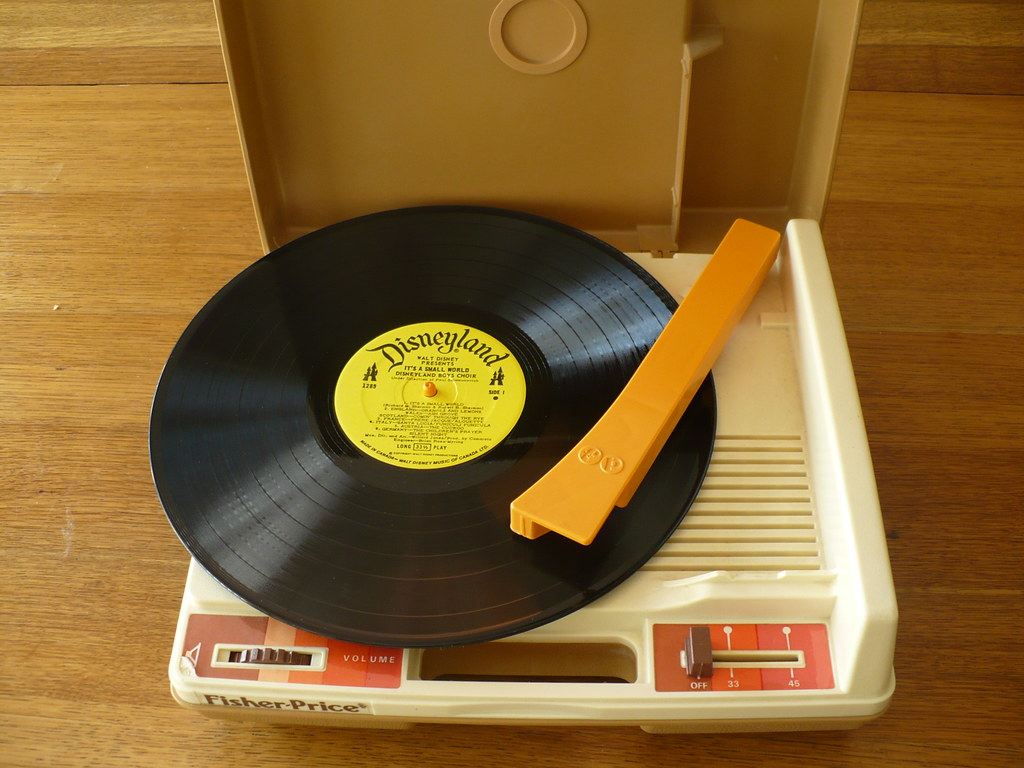 Fisher-Price Turntable | My big yard sale score of the day -… | Flickr