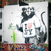 New Banksy Rat Mural in New York