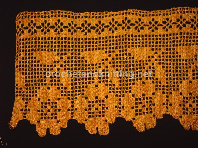 Crochet Towel Edge Pattern M3372m 2103 Crochet Knitting Flickr