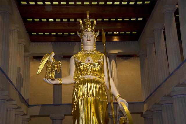 Dsc 8762c Athena Statue In The Pantheon Nashville Tn