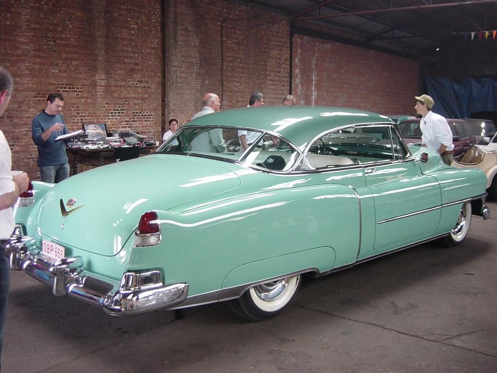 1952 Cadillac Coupe De Ville Manu Flickr