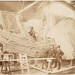 [Construction of the skeleton and plaster surface of the lef...