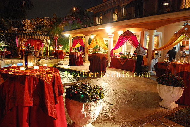 Moroccan Theme Engagement Party In Private Residence Flickr