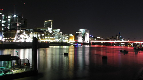Thames river by night | by bortescristian