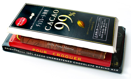 99-100% Chocolate Bars | by cybele-