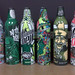 All 6 Green Label Art Mt Dew bottles (Josh picked the last 2 up for me)
