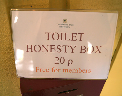 Toilet Honesty Box | by I See Modern Britain