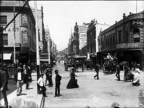 King Street, Sydney, looking east from George Street | by Powerhouse Museum Collection