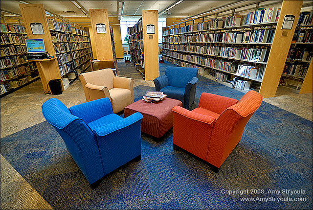 Comfortable Chairs For Reading At Northland Public Library