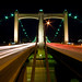Traffic on Hennepin Bridge