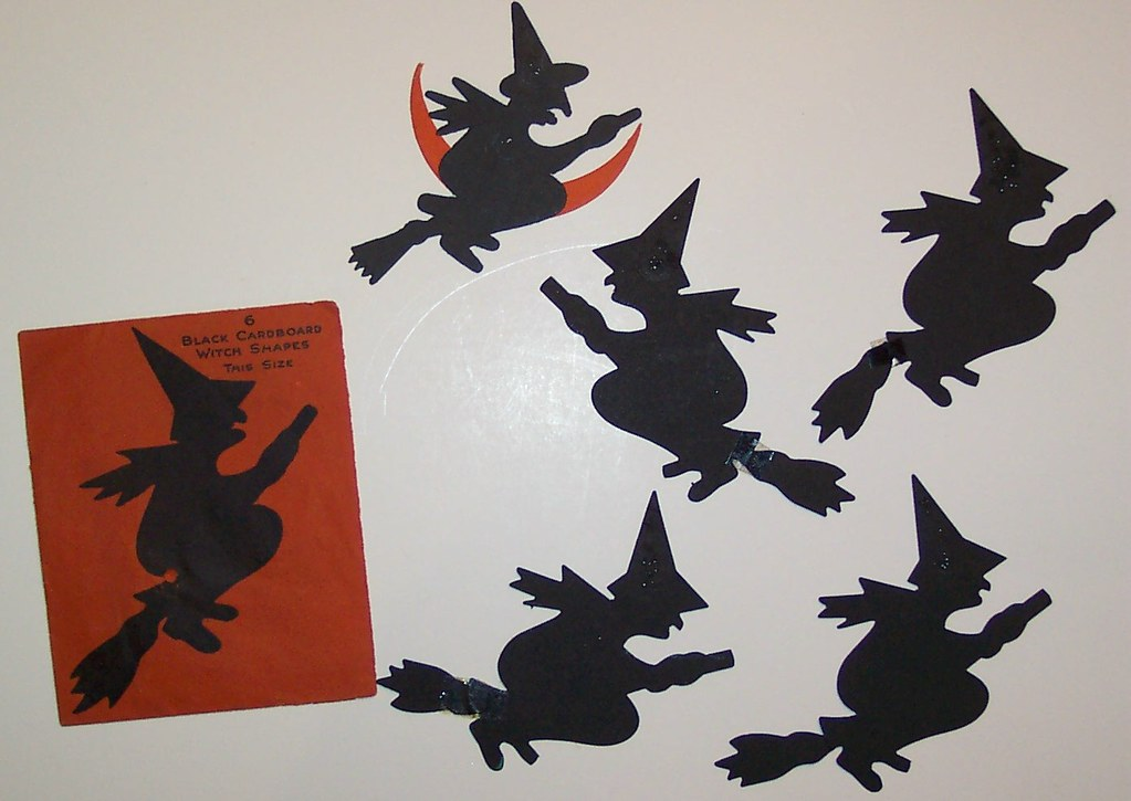 Vintage Halloween Cutouts Dave Flickr