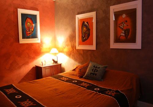 chambre ethnique africaine d coration africaine flickr. Black Bedroom Furniture Sets. Home Design Ideas