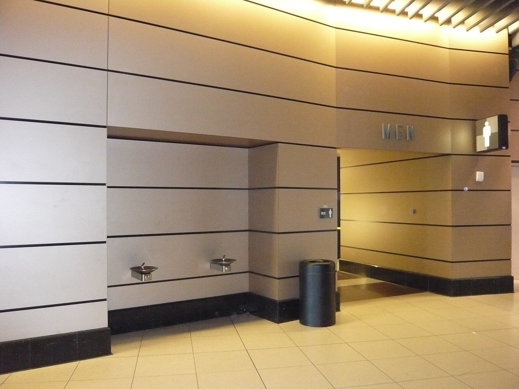Airport Interior Wall Lining With Trespa Virtuon Panels