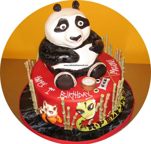 Kung Fu Panda Birthday Cake Everything On This Is Edible